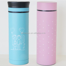 12oz Double Wall Plastic Changeable Paper Insert Thermos Mug,Diy Plastic Tumbler With Photo Insert,360ml Plastic Advertising Cup