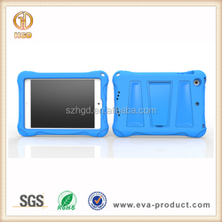 Shock Proof Foam EVA protective hybrid case for iPad mini 2 with stand