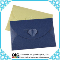 2015 new design colorful fancy paper envelope for gift