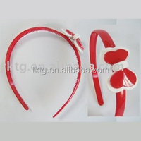 Double bow hair band for unisex