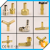RX-1231 wholesale 90 degree elbow hose barb fittings rubber hose elbow forked hose barb swith
