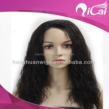 "Stock wig cosmetic hair first class pure virgin wholesale 28"" 100% Peruvian virgin hair full lace wig"