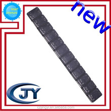 black color counter iron tires balancing weight for cars