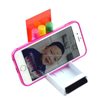 novelty 3 in 1 triangle-shaped multi-color highlighter pen