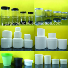 PET Jar,Double Wall PP Plastic Cream Jar,Plastic Jar 15g,30g,50g,100g,150g,200g,250g,300g,400g,500g