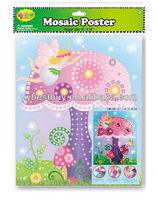 educational toy kids mosaic craft kit DIY sticky foam mosaics