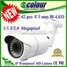 Newest bullet ip outdoor security cameras japan av(BE-IPWF)
