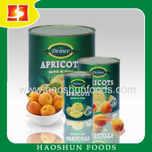 Canned Apricot halves or Dices Fresh Apricot Materials