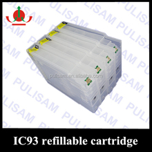 Japan IC93 refillable ink cartridge for epson PX-M7050F/ PX-S7050 printers with chip without ink