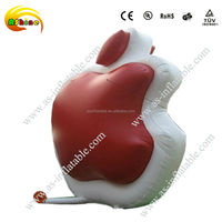 2014 custom made good quality inflatable apple model for sale