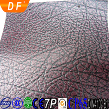 printed leather street lighting pole leather material artificial leather with embossing