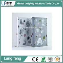 Hard cover notebook with transparent paper cover Shan Hai Jing series
