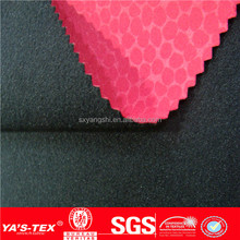 4 way stretch compound fabric, polyester spandex mesh fabric ,functional polar fleece