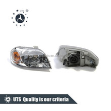 Chevrolet spare parts crystal color manual car headlight for chevrolet AVEO 08/LOVA 08/SONIC R 96650522 L 96650521
