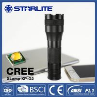 STARLITE 3AAA 125m cree led flashlight torch 200 lumen