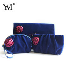 Newest fashion Jacquard handbag with double pullers