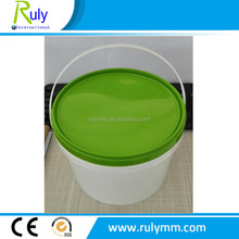 Safe use healthy PP plastic bucket food grade container/bucket