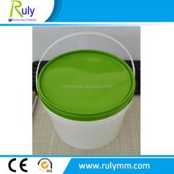 Safe use healthy PP plastic bucket food grade container/bucket