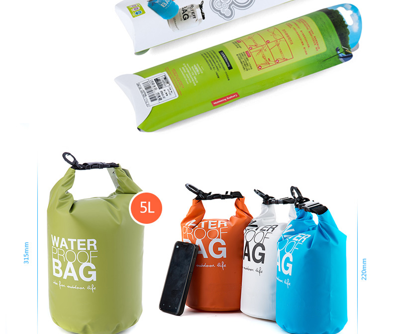 Customized Design Waterproof Dry Bag For Camping