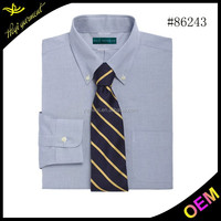 Latest style top quality long sleeve indian dress shirts for men