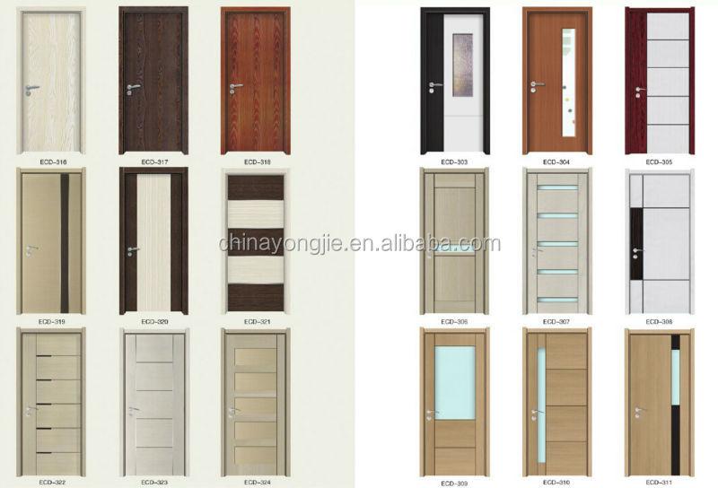 China Factory Wooden Main Door Design Single Door Design Mdf
