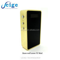 Vape on hot sale!!! snow wolf 200w gold and gun color in stock now newest product snow wolf 200w high quality from Ucige