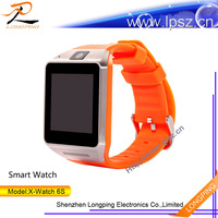 2015 Hot selling smart watch support SIM/TF pedometers/sleep monitoring support ios and android