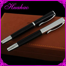 2015 high value brand exclusive heavy metal roller pen for gift