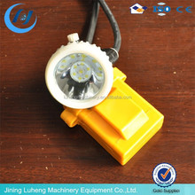 led mining light with battery charger head lamp/light mine miner cap head lamp
