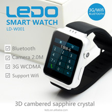 3G Android Watch Phone S6 with MIcro sim card MTK6572 Dual Core 3G android watch phone K8
