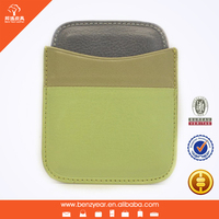 Atm Card Cover 2015 Factory Wholesale Leather Card Wallet for Gift from Guangzhou