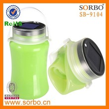 Best Selling Silicone Foldable Water Bottle/Outdoor Drinking Water Bottle