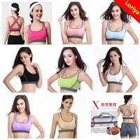 Best quality new arrival hot indian lady photos sexy sport bra