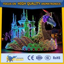 The Amazing Carnival Thai-lantern & Float For Amusement park
