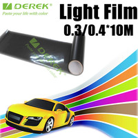 Top quality car taillight film with Three Layers Headlight Tint Film
