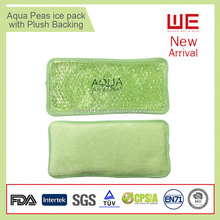 Aqua Pearls Ice Packs As Promotional Gifts with plush backing