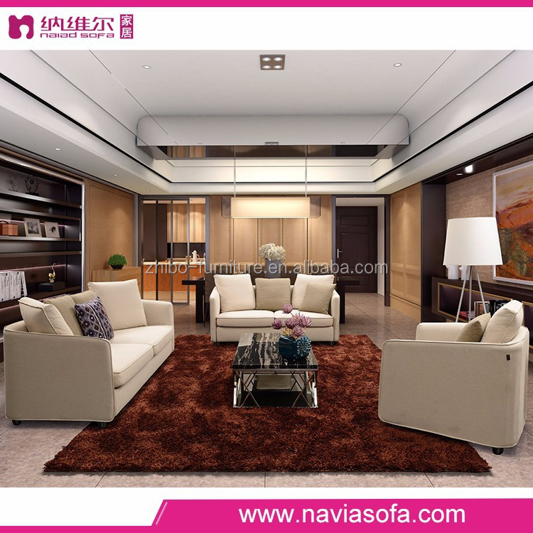 Cheap chinese furniture exquisite living room modern sectional fabric ...