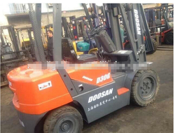 Doosan 3 ton used forklift with abundant stock ,second hand forklift