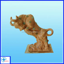 Resin buffalo Prototype for promotion gifts 3D craft figure clay mold