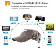 bluetooth sport headband /2 channel /4.1+EDR / best price / Bluetooth cap with headphone