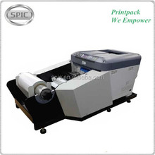 Automatic roll to roll sticker label printing machine