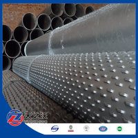 Bridge type screen pipes for water well drilling used