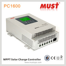 45A 60A 12V/24V/36V/48V MPPT Solar Charge Controller Fan cooling for solar System and Streetlight Use 99% efficiency.