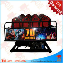 7d Cinema 7d Simulator 7D Motion Ride 7D hydraulic/electric system