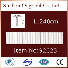 polyurethane material plastic picture frame molding strip