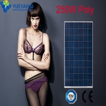 Hot sale in EU market YYOPTO 255w poly-crystalline solar cell panel