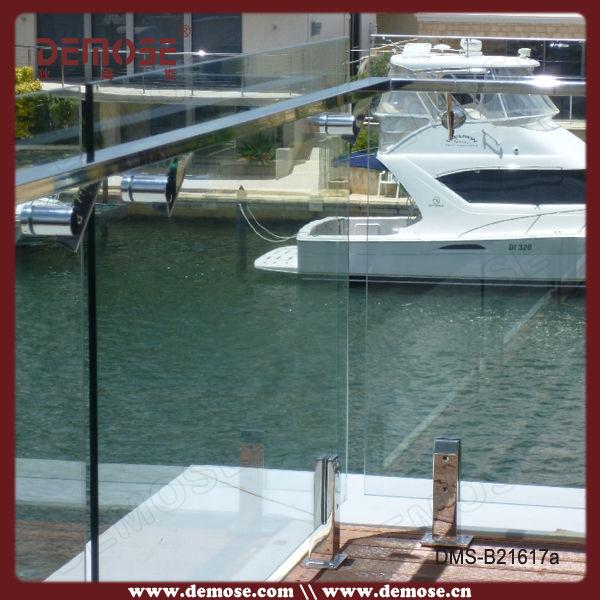 Außen balkon geländer design glas leitplanke brüstung und geländer ...