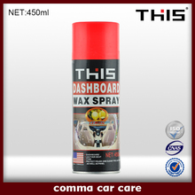 450ml and 250ml Auto Dashboard Silicone Spray, Dashboard Wax Polish, Car Polishing
