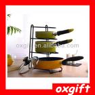 Oxgift 2014 metal porta-pan organizador cozinha cozinha titular t14048