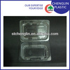 clear blister take away food containers